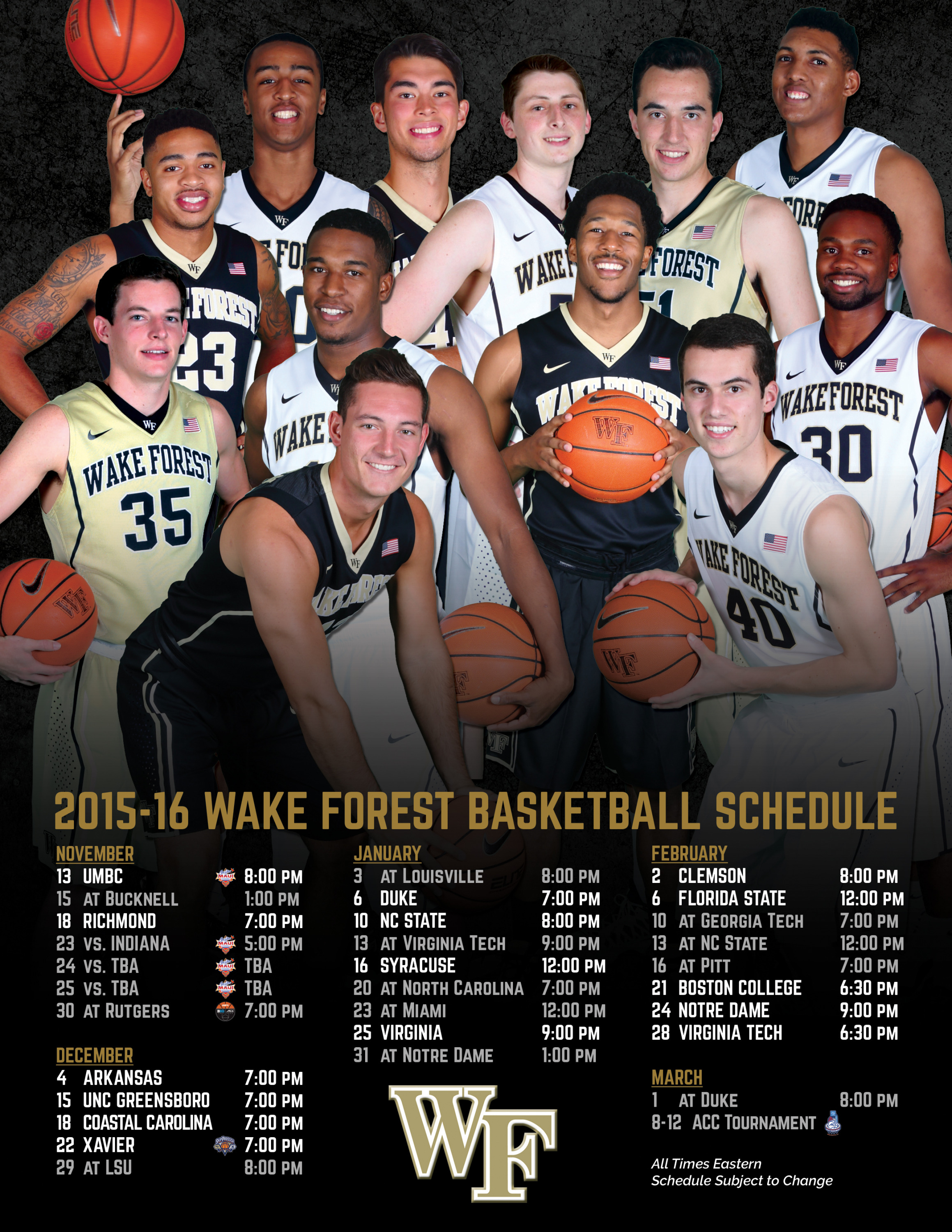 2015-16 men's basketball media guide - wake forest university athletics