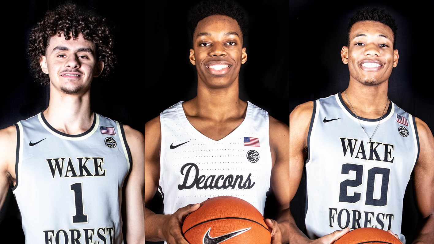 wake forest basketball signs three for class of 2019 - wake forest