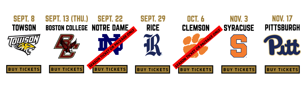 Wake Forest Football Tickets Wake Forest University